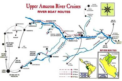 Latin Destination Specialists Custom FIT Travel Tours To Central - Amazon river map