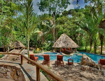Swimming Pool and Patio, Caves Branch, Belmopan, Belize