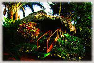 Lamanai Outpost Lodge main building, Belize