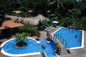 Swimming Pool at Mawamba Jungle Lodge, Costa Rica
