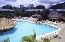 Swimming pool, surrounded by 134 acres of tropical landscape, Doubletree Cariari Hotel, San Jose, Costa Rica