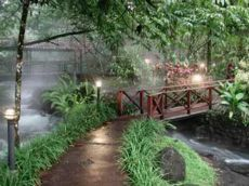 Garden Bridge, Tabacon Hot Springs, Arenal, Costa Rica